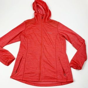 Columbia Long Sleeve Marled Fleece Zip Sweatshirt